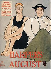 Harper's August. Tom Sawyer Detective