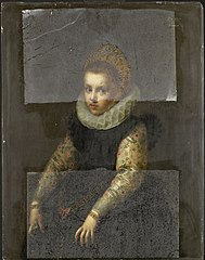 Portrait of a Sister of Catharina Fourmenois
