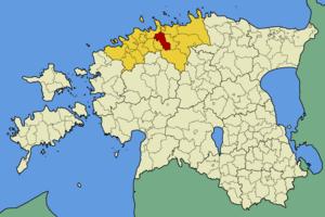 Rae Parish - Image: Eesti rae vald
