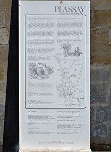 Eglise Saint Blaise Plassay info.JPG