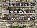 Eingang Naturpark Nordwald Bad Großpertholz 2010-08.jpg