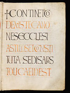 <i>Collectio canonum Quesnelliana</i>