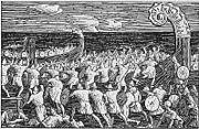 Eirikrs men board the long serpent