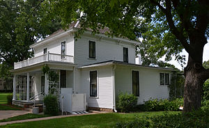 Dwight D. Eisenhower Presidential Library, Museum and Boyhood Home - Image: Eisenhower Home 1