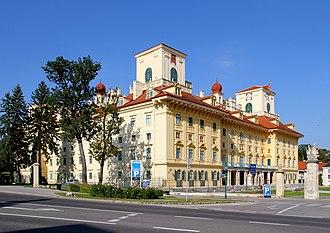 Esterházy - Schloss Esterházy in Eisenstadt, Austria