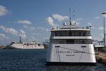 El Crucero MS Belle del Adriático en el muelle de Santa Catalina de Las Palmas de Gran Canaria Islas Canarias (6413448631).jpg