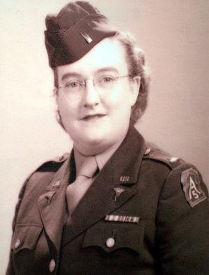 Elaine Roe - Second Lieutenant Elaine A. Roe