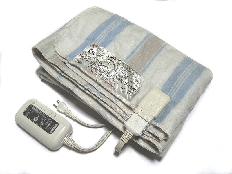 File:Electric blanket Sharp HB-C11S.jpg