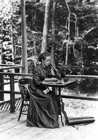 Elizabeth Gertrude Britton - Image: Elizabeth G Knight 1886