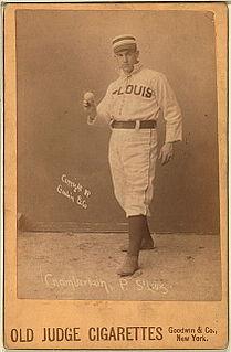 Ice Box Chamberlain Major League Baseball pitcher