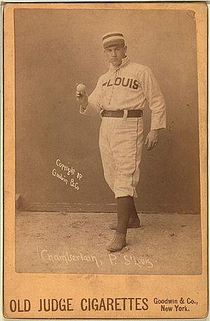 Ice Box Chamberlain - Image: Elton chamberlain baseball card