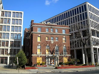 Embassy of the Philippines, Washington, D.C. - The former chancery located at 1617 Massachusetts Avenue