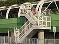 Emergency exit between trains viaduct and Ap Lei Chau Bridge.jpg