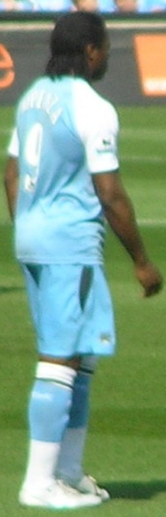 Émile Mpenza - Mpenza with Manchester City in 2007