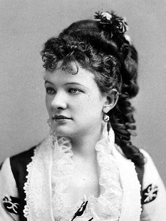 Emma Abbott - Emma Abbot circa 1870