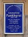 Emmeline Christabel and Sylvia Pankhurst (Marchmont Association).jpg
