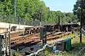 Employee platforms south of Ashmont station, August 2016.JPG