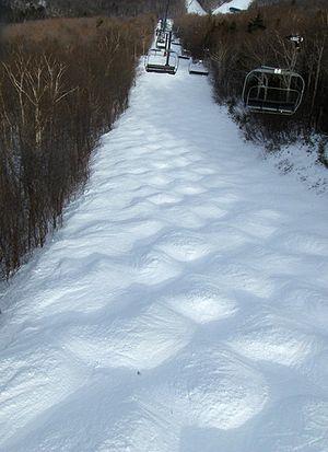 Mogul skiing - Moguls (at Sugarbush, Vermont)