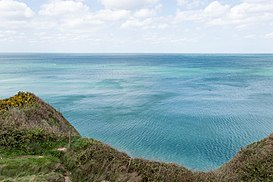 English Channel from Pointe du Hoc.jpg