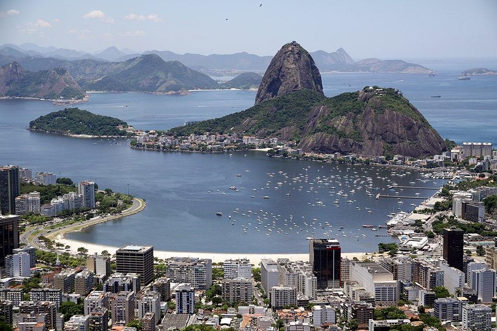 Enseada de Botafogo e Pão de Açúcar
