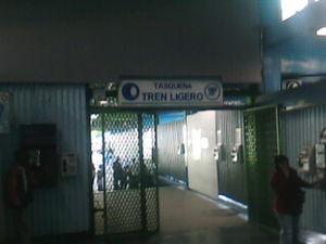 Metro Tasqueña - Entrance to the Tren Ligero at Tasqueña, 2008