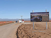 Entrance gate Spaceport America.jpg