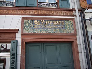 Hans Purrmann - Image: Entrance of Purrmann House in Speyer