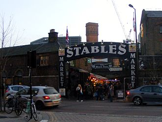 Camden Market - The Stables Market entrance