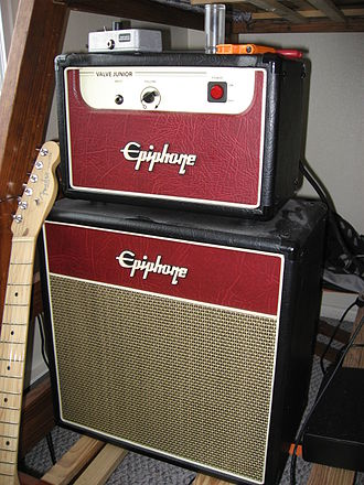 Epiphone valve junior half stack model