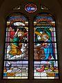 Ercée-en-Lamée (35) Église Saint-Jean-Baptiste Vitrail 01.jpg