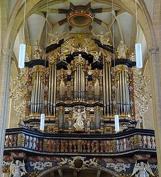 Johann Friedrich Wender - Image: Erfurt St. Severi 01