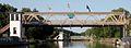 Erie Canal Lift Bridge Lockport July 2010.JPG