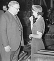 Ernest Bevin visits No 11 Royal Ordnance Factory, Newport, Monmouthshire, Wales, UK, c.1943.jpg