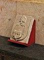 Escut d'Alfons de Borja, bisbe de València, museu catedralici i diocesà de València.JPG