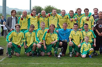 Esh Winning F.C. - Ernest Armstrong Cup Winners 2008