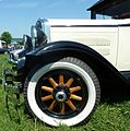 Essex front wheel, Cophill Farm vintage rally 2012.jpg