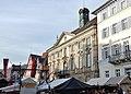 """Esslinger Mittelaltermarkt ^ Weihnachtsmarkt mit Blick auf das """"Neue Rathaus"""" - panoramio.jpg"""