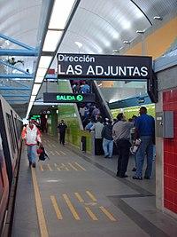 Estación El Tambor, Metro Los Teques.