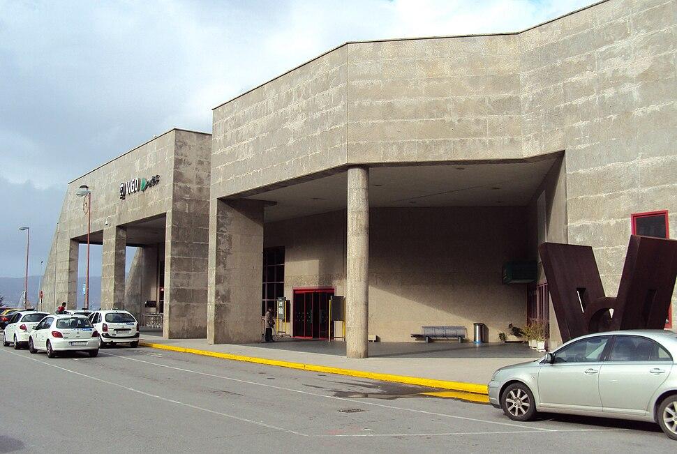 Estación de Ferrocarril, fachada, Vigo