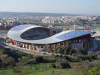 Estádio Dr. Magalhães Pessoa association football stadium in Leiria, Portugal