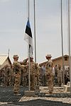 Estonian soldiers bid farewell to coalition counterparts in Helmand province 140509-M-KC435-006.jpg