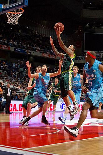 Marcus Williams (basketball, born 1985) - Williams playing with Unicaja Málaga against Estudiantes in 2013