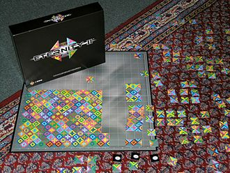 Eternity II puzzle - The Eternity II puzzle