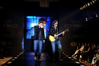 Pakistani pop music - In the 1990s, the Strings gained a lot of publicity for their rock/pop music genre.