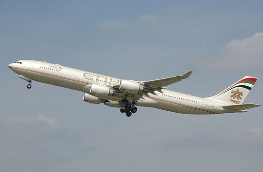 Etihad Airways Airbus A340