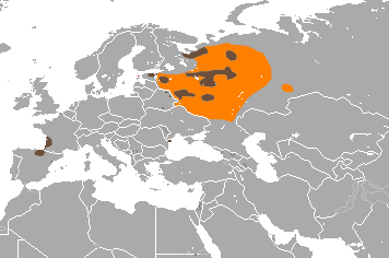 European Mink area