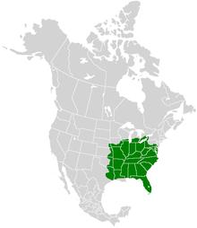 Eurytides marcellus range map.PNG