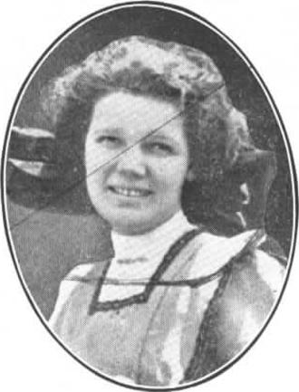 Alan L. Hart - Eva Cushman, Alan's college love.