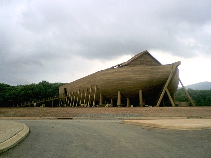 The ark in Evan Almighty movie