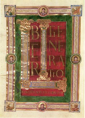 Sainte-Chapelle Gospels - Folio 16 verso